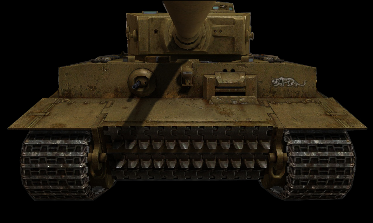 Pzkpfw Vi Tiger 1spzabt 501 Tunisia